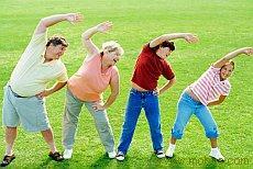 Утренняя гимнастика для больных ожирением