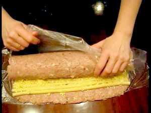 рецепт мясных рулетов