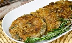 Капустно-гречневые оладьи – кулинарный рецепт