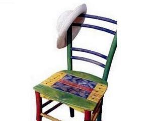 Идеи для дачи. Вторая жизнь старого стула
