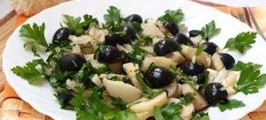 Простые рецепты вкусных овощных салатов