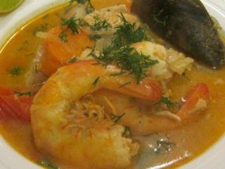 Греческий рыбный суп. Вусный рецепт греческого рыбного супа.<br> Национальная греческая кухня