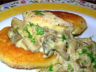 рецепт грибных котлет с мясным фаршем