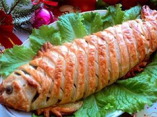 Карп фаршированный. Блюда из рыбы (простой рецепт)
