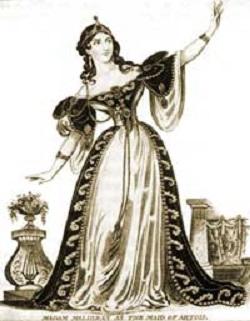 Будто метеор ослепляющей яркости осветила она на краткий миг своей жизни оперный небосвод.