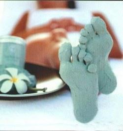 Голубая глина рецепт для стоп