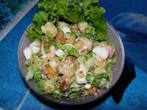Рецепты салатов с морепродуктами