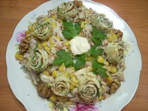 Рецепты мясных салатов для вашего стола