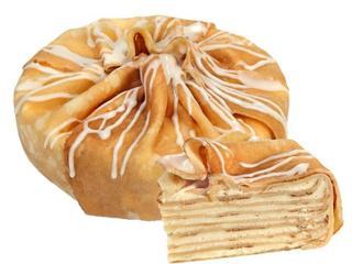 Блинные торты с разными начинками