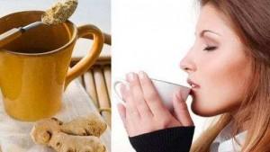 Рецепты с имбирем от простуды и  кашля