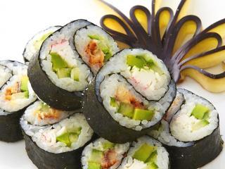 Суши-диета. Калорийность роллов, меню диеты