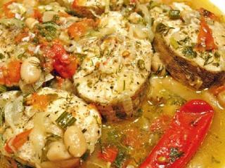 Щука, тушеная с вином.  Оригинальные рецепты блюд из рыбы (постное блюдо)