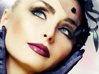 Праздничный макияж. Уроки  макияжа (продолжение)