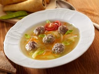 Суп с фрикадельками. Вкусный простой рецепт супа. Детское питание. Диетическое питание