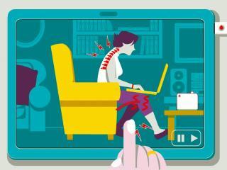 Чтобы компьютер стал другом... Организация работы и рабочего места