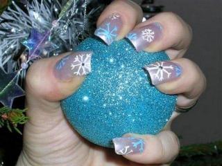 Рецепты красоты для Ваших ногтей. Готовимся к Рождеству и новогодним праздникам