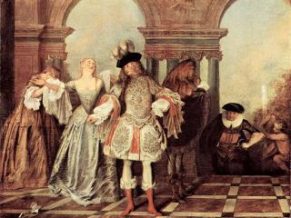 История моды Эпоха регенства (1715-1730)