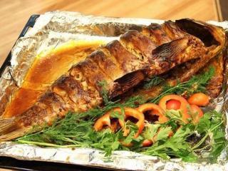 Рыба, запеченная в панировке