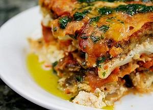 Вегетарианская лазанья рецепт с фото