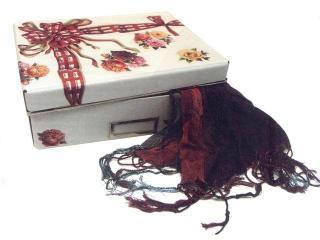 Коробка для мелочей «Бантик»: поделки для дома в технике декупаж