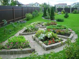 Декоративный огород. Идеи для дачи
