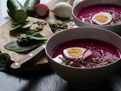 Холодные супы из традиционной русской кухни
