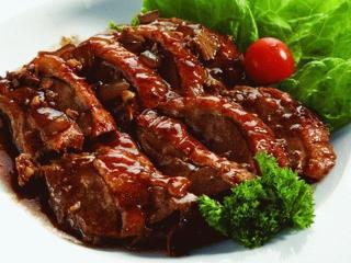 Зразы отбивные из говядины