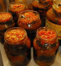 Рецепты заготовок на зиму из баклажанов