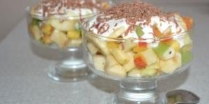 Рецепты фруктовых десертов