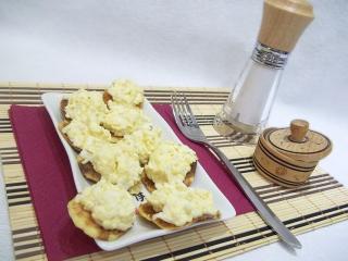 Закуска на картофельных чипсах. Рецепт с фото