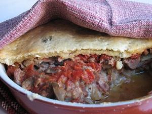 Блюдо из мяса из английской кухни
