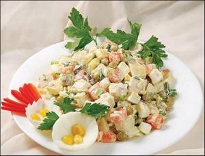 рецепты летних закусок и салатов