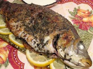Карп с шалфеем. Чешская кухня. Праздничные рецепты блюд из рыбы к Рождесту и Новому году