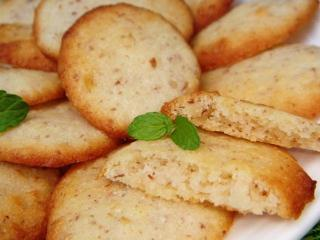 Печенье  с фасолью и орехами