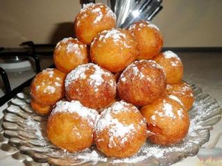 Торт из пончиков с медом