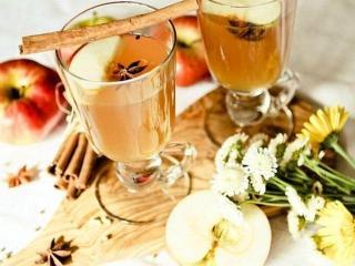 Напиток для похудения с ромашкой и яблочным уксусом