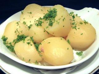 Разгрузочный картофельный день