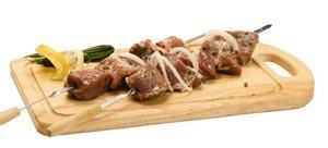 Шашлык с терияки и паприкой – кулинарный рецепт