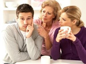 Семейные отношения: теща и зять