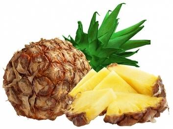 Разгрузочный день с ананасом