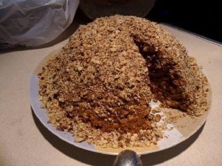"""Торт """"Золотой орех"""" (Простые рецепты выпечки наших читателей)"""