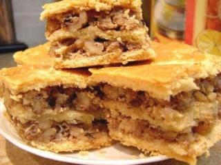 Пирог «Луковка»