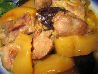 Индейка с яблочным соусом. Вкусный рецепт второго блюда из птицы.<br> Детское питание. Диетическое питание