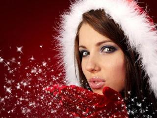 Новогодний макияж. Правила макияжа для встречи Рождества и к новогодним праздникам 2014