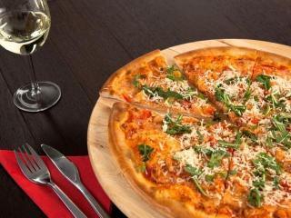 Пицца с креветками - рецепт пиццы