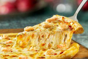 Для тех, кто любит пиццу и морепродукты!