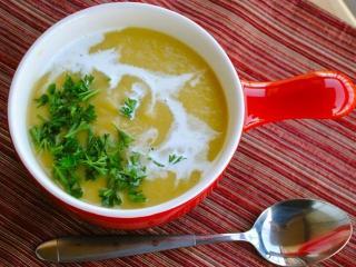 Суп из лука-порея - рецепт с фото