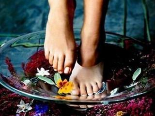 Некоторые лекарственные растения, применяемые для ухода за кожей ног (натуральная косметика)