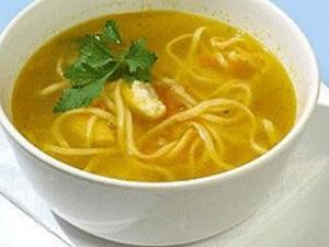 Рецепты первых блюд из курицы с приправами. Супы и бульоны на основе куриного мяса.