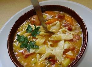 Первые блюда молдавской кухни